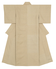 "写真:Kimono of cotton fūtsū. ""First wind of autumn"""