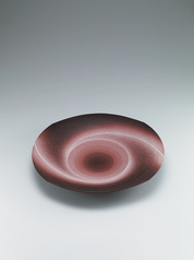 "写真:Bowl with ""daybreak"" glaze."
