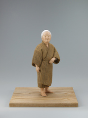 "写真:""Shidakaji"". Formed with tōso over wooden core and covered with cloth and paper."