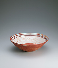 写真:Large Shino bowl.