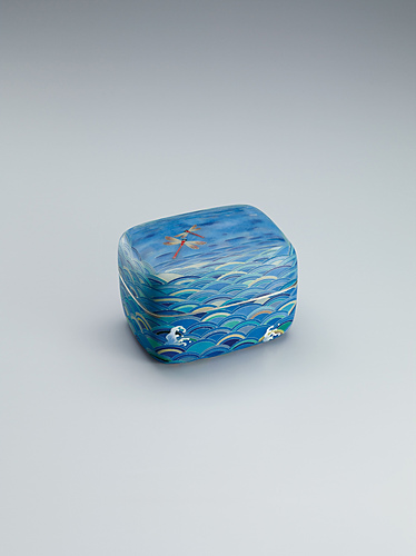 """image Cloisonne covered box. """"Dragonflies"""""""